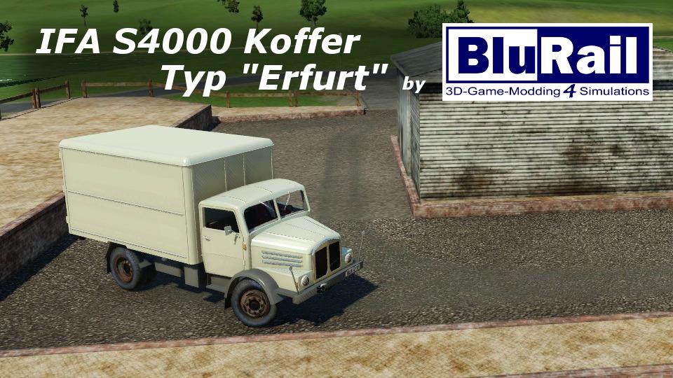 IFA S4000 Koffer Erfurt by BluRail